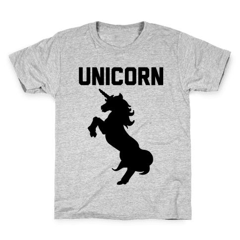 Unicorn Sisters Pair 1 Kids T-Shirt