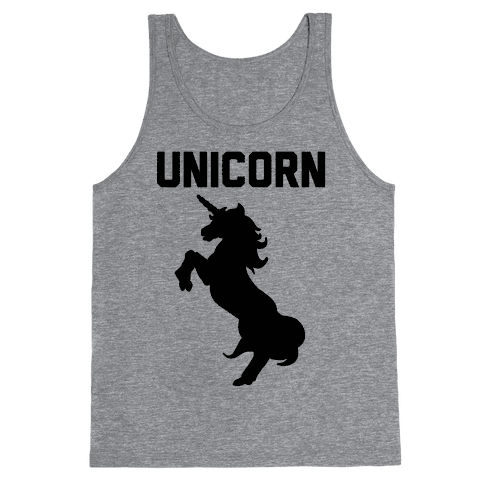 Unicorn Sisters Pair 1 Tank Top