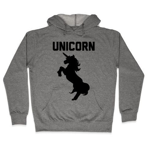 Unicorn Sisters Pair 1 Hooded Sweatshirt