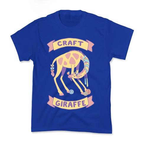 Craft Giraffe Kids T-Shirt