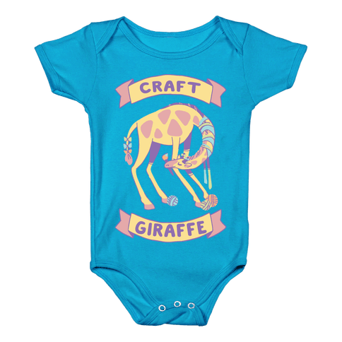 Craft Giraffe  Baby Onesy