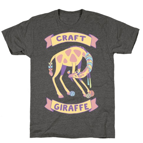 Craft Giraffe T-Shirt