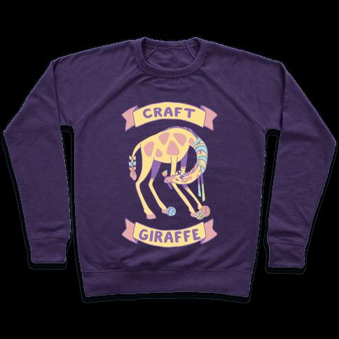 Craft Giraffe  Pullover