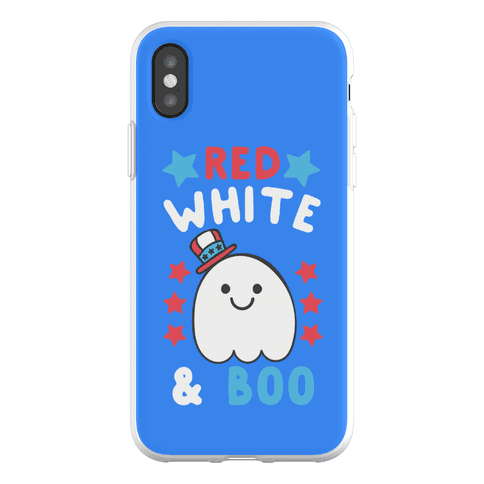 Red, White and Boo Phone Flexi-Case