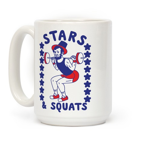 Stars and Squats Coffee Mug