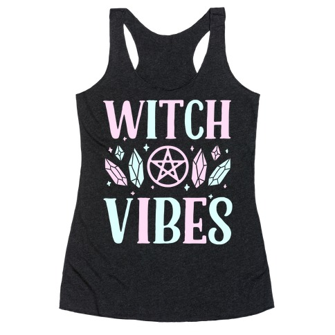 Witch Vibes Racerback Tank Top