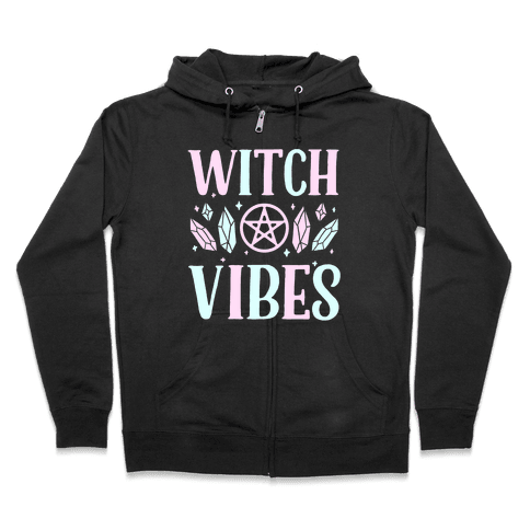 Witch Vibes Zip Hoodie