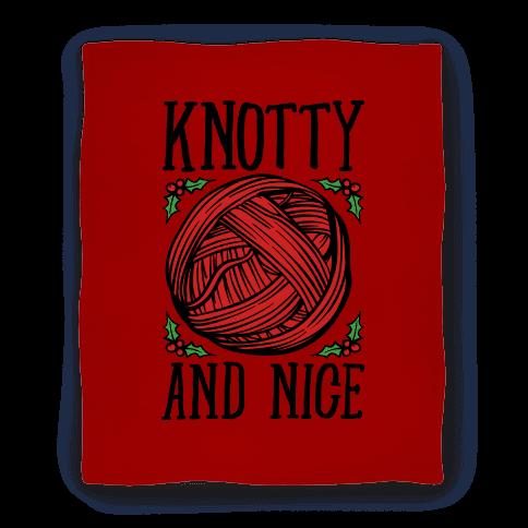 Knotty and Nice Yarn Parody Blanket