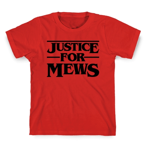 Justice For Mews  Kids T-Shirt