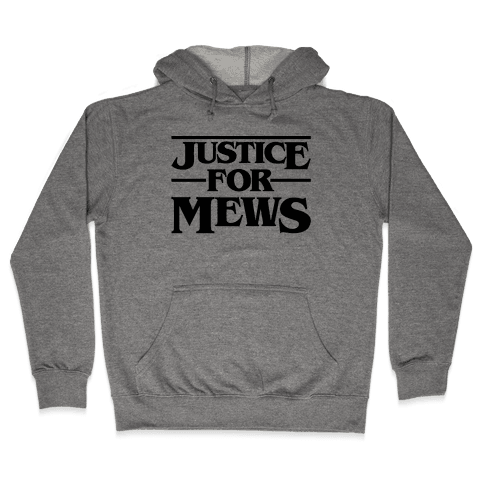 Justice For Mews  Hooded Sweatshirt