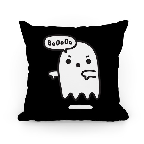 Disapproving Ghost Pillow
