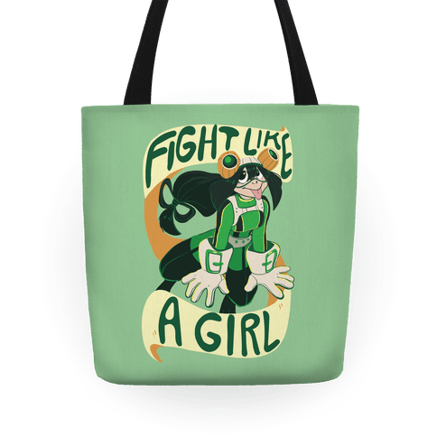 Fight Like a Girl Tote