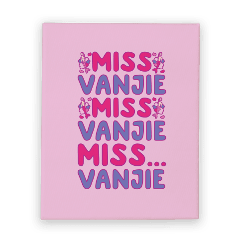Miss Vanjie Parody Canvas Print