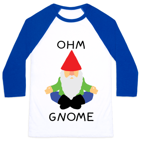 Ohm Gnome Baseball Tee