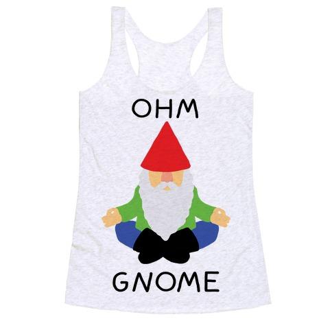Ohm Gnome Racerback Tank Top