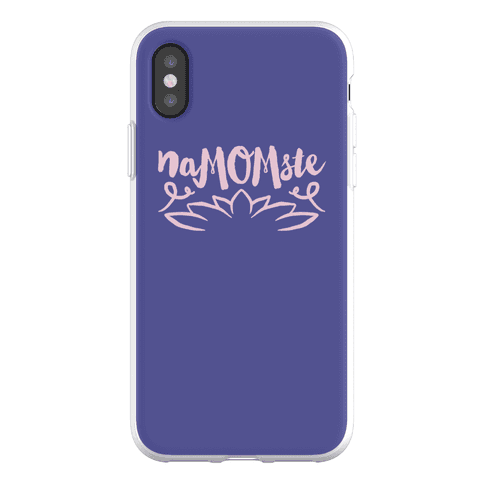 NaMOMste Yoga Mom Parody Phone Flexi-Case