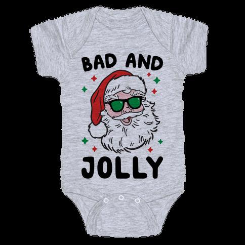 Bad And Jolly Baby Onesy
