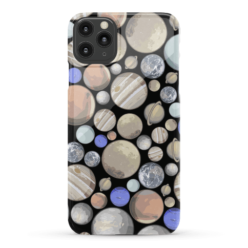 Planets Pattern Phone Case