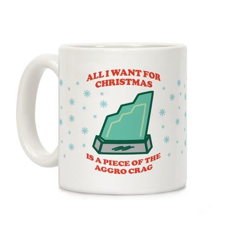 Aggro Crag Christmas Coffee Mug