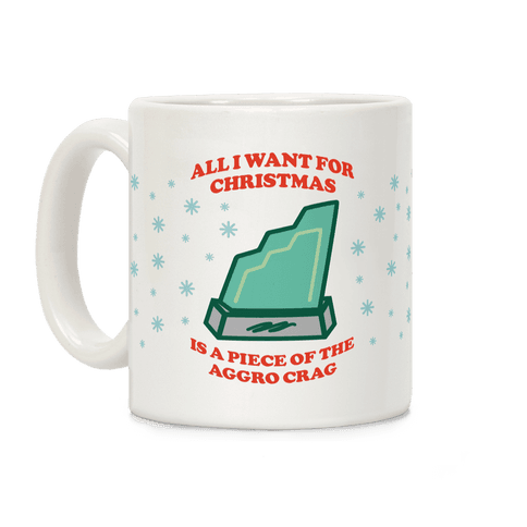 Aggro Crag Christmas Coffee Mug