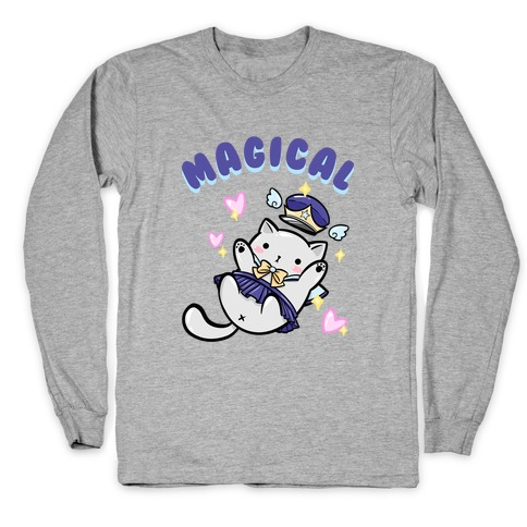 Magical Cat Long Sleeve T-Shirt