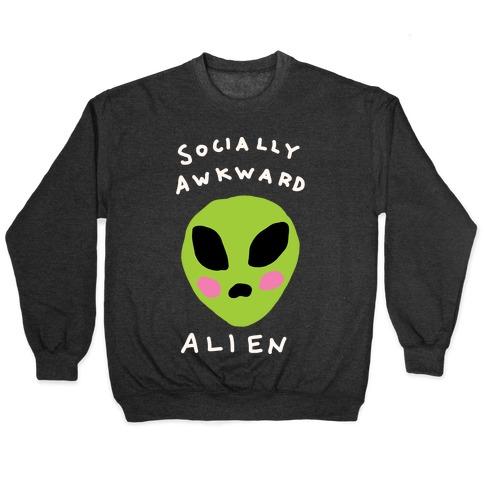 Socially Awkward Alien Pullover