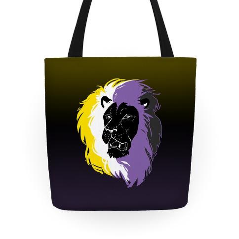 Non-binary Lion Pride Tote