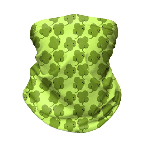 ShamButts Pattern Green Neck Gaiter