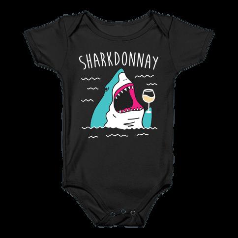 Sharkdonnay Baby Onesy