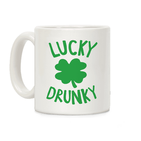 Lucky Drunky Coffee Mug