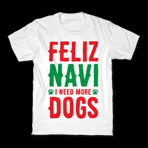 Feliz Navi Dogs Kids T-Shirt