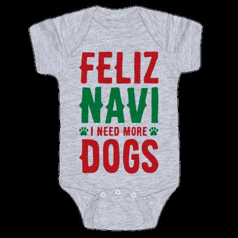 Feliz Navi Dogs Baby Onesy