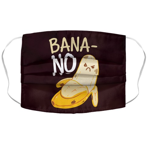 BanaNO Accordion Face Mask