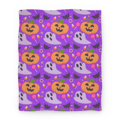 Halloween Fun Pattern Blanket