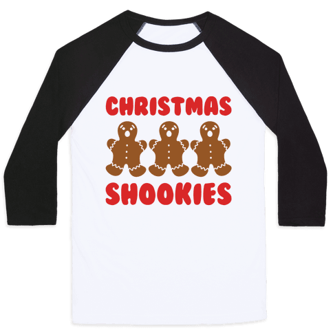 Christmas Shookies  Baseball Tee