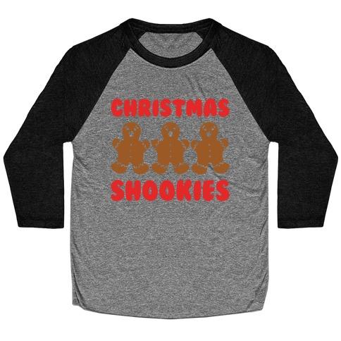 Christmas Shookies Baseball Tee