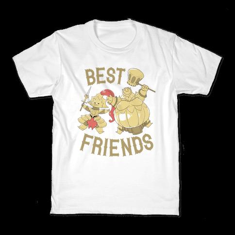 Best Friends Ornstein and Smough Kids T-Shirt