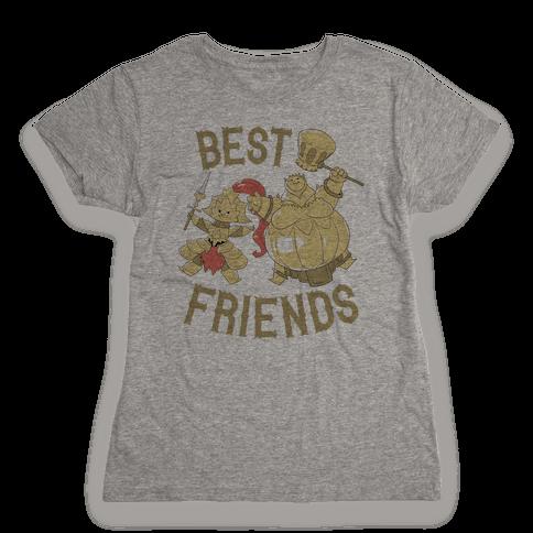 Best Friends Ornstein and Smough Womens T-Shirt