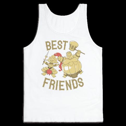 Best Friends Ornstein and Smough Tank Top