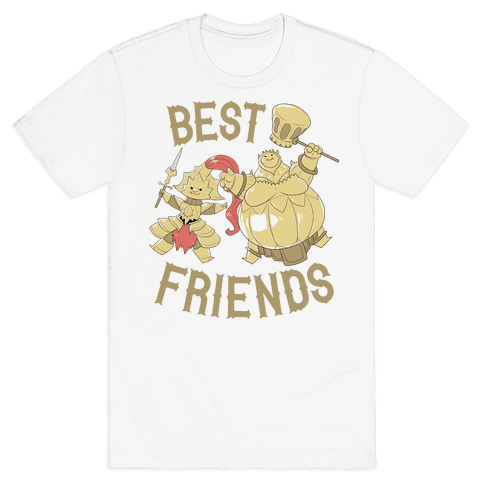 Best Friends Ornstein and Smough Mens T-Shirt