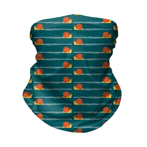 snail trail pattern Neck Gaiter