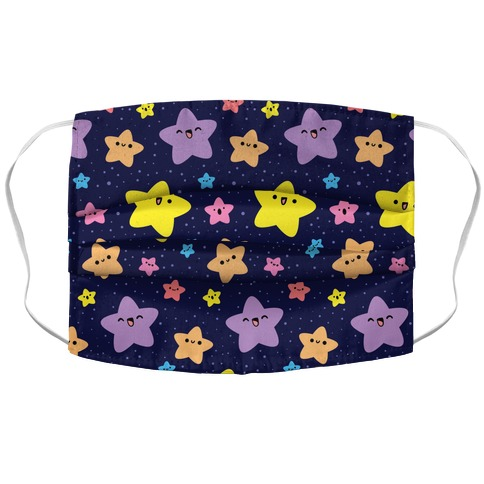 Cute Stars Pattern Face Mask