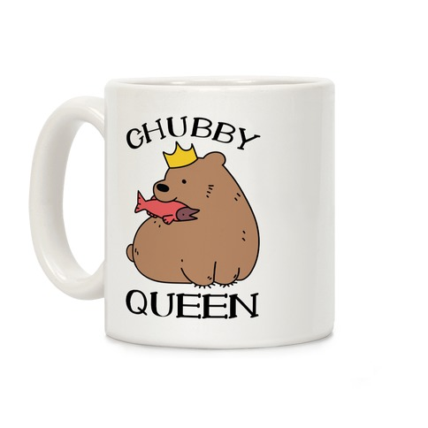 Chubby Queen Coffee Mug