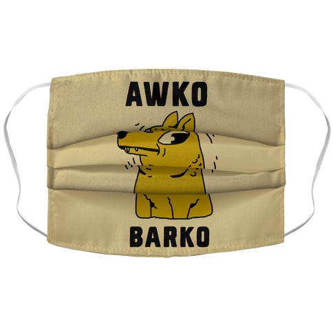 Awko Barko Accordion Face Mask