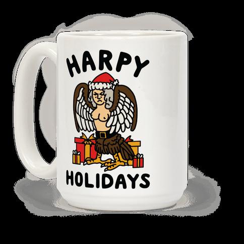 Harpy Holidays Coffee Mug