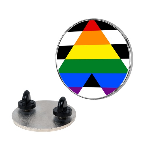 Ally Pride Flag Pin