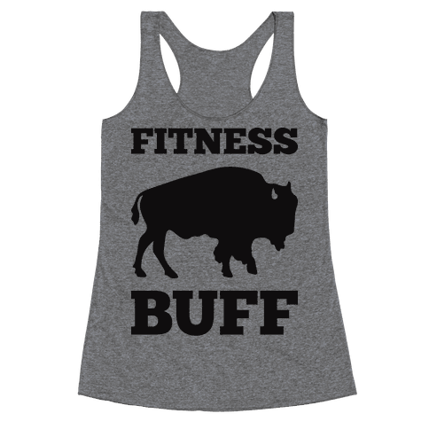 Fitness Buff Racerback Tank Top