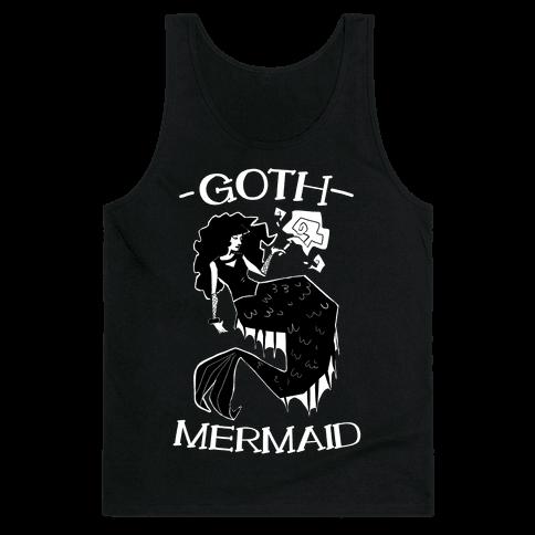 Goth Mermaid Tank Top