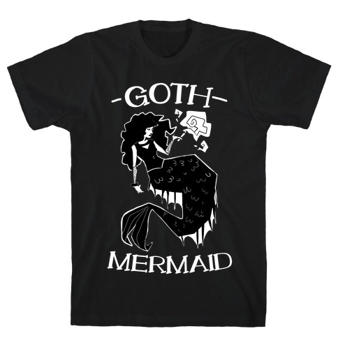 Goth Mermaid T-Shirt