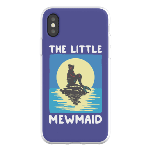 The Little Mewmaid Phone Flexi-Case